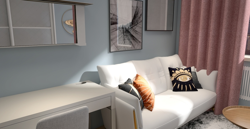 bedroom Interior Design Render