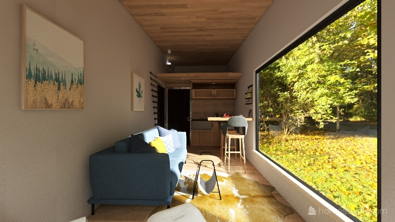 v2_Tiny 6.5 x 2.44 Interior Design Render