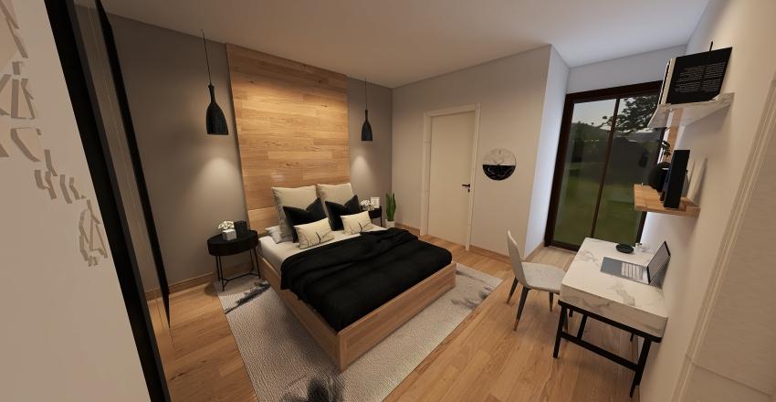Works of Wood Interior Design Render