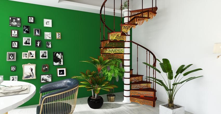Restaurante Matosinhos Interior Design Render