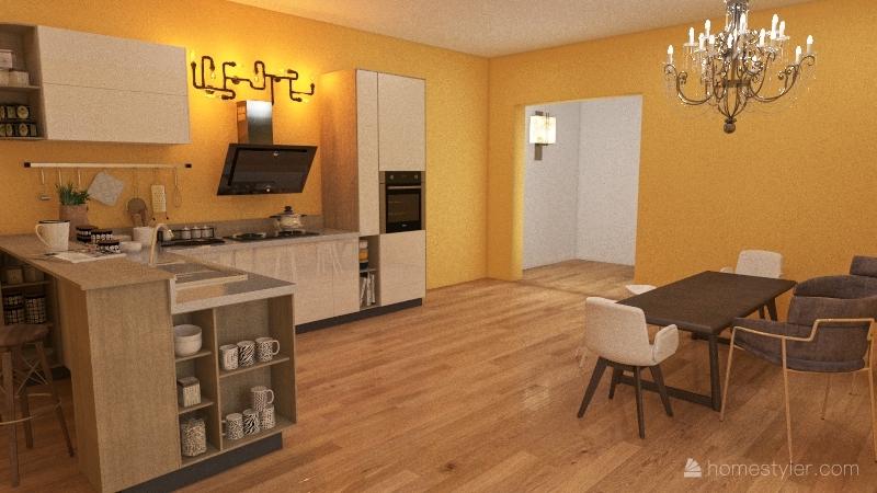 Taylor McCue- Floor Plan 1 Interior Design Render
