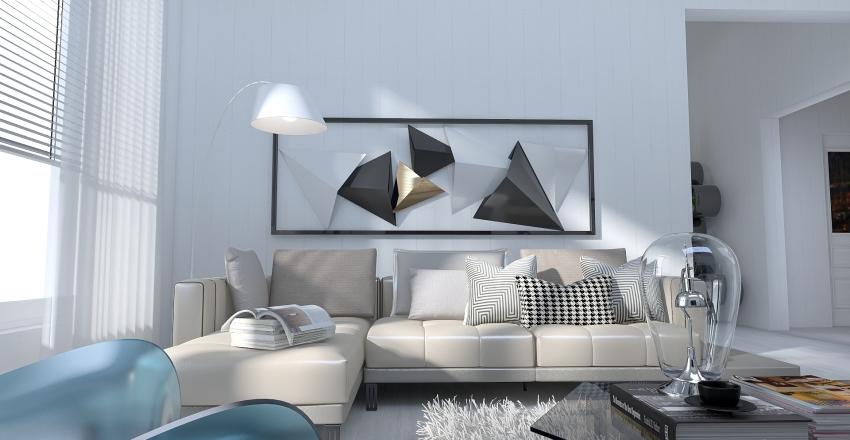 Translucence......inspired by acrylic furniture models. Interior Design Render