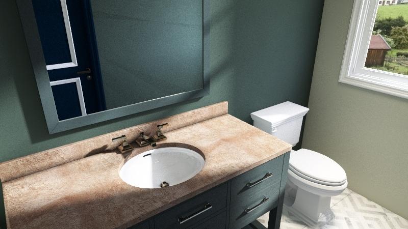 1136 House Interior Design Render