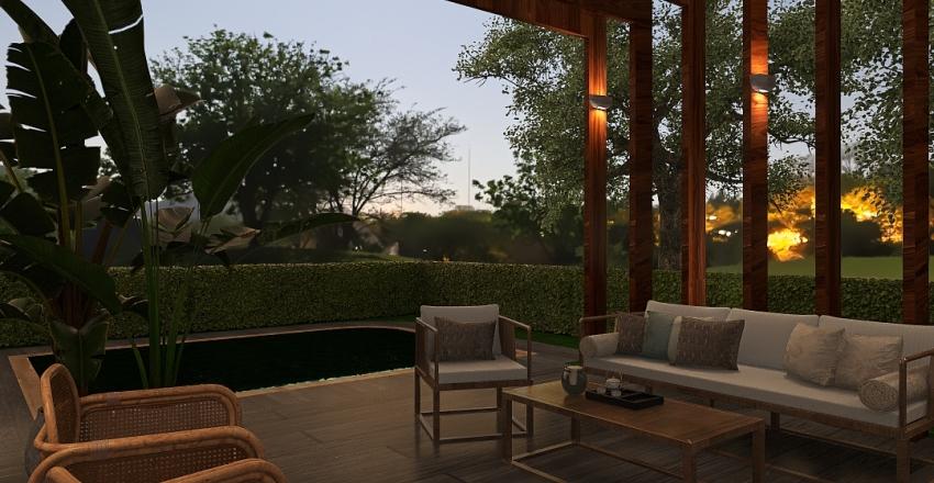 Vern - Modelo casa Interior Design Render