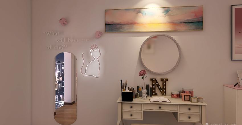 Pinkalicious Interior Design Render