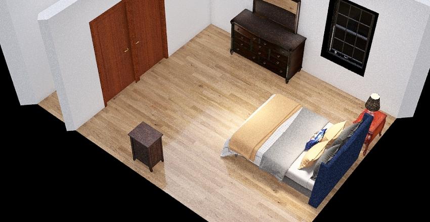 BEDROOM EXAMPLE Interior Design Render