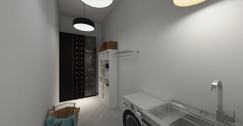 проект дома Interior Design Render