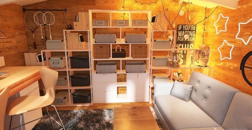 Summerhouse Interior Design Render