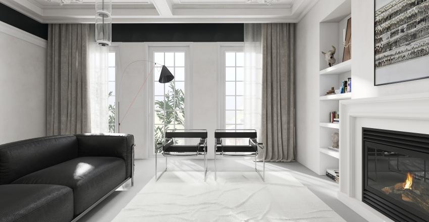 Bauhaus Style Model Collection Interior Design Render