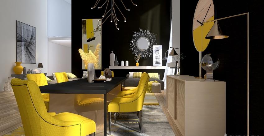 Pantone Interior Design Render