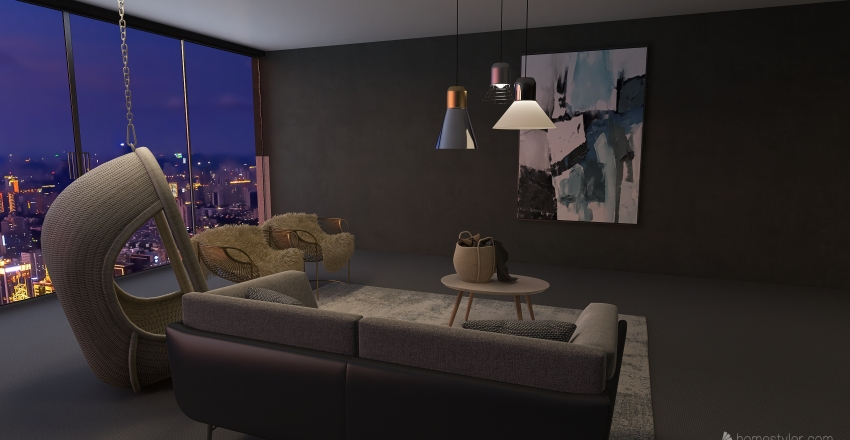 stuff and things Interior Design Render