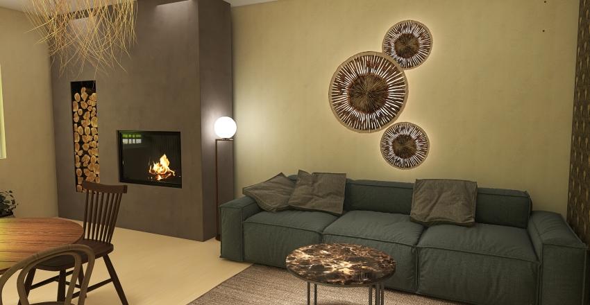 Studio Bureau Wabi-Sabi Interior Design Render