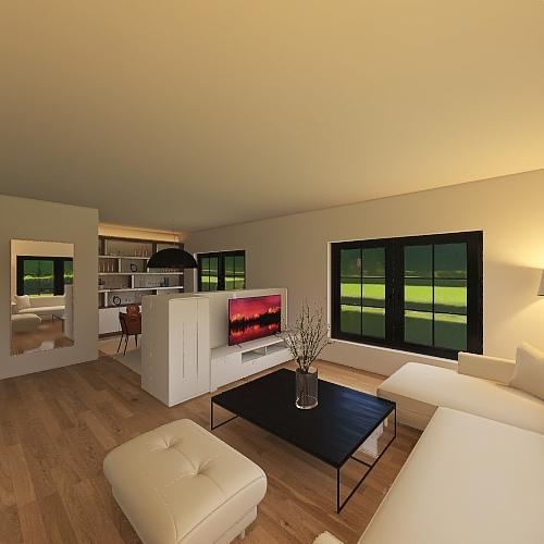 Copy of Fedinand Woonkamer 2 Interior Design Render