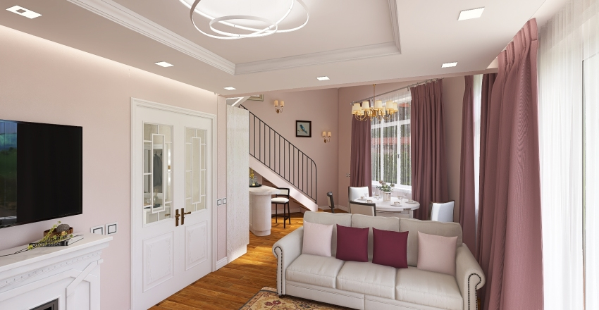 Angelovo Interior Design Render