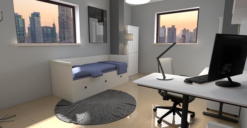 Bedroom & game Interior Design Render