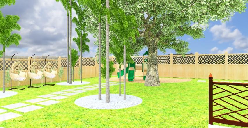 Backyard 8011 Chervil NO STEPS Interior Design Render