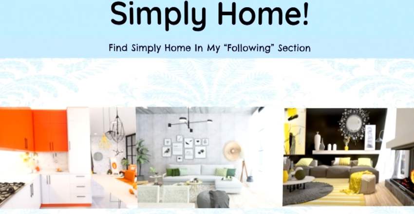 Simply Home & Simply Home Official! Interior Design Render
