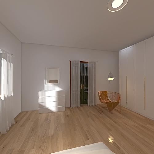 Stanza ospiti Interior Design Render