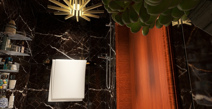 Box House (Challenge) Interior Design Render