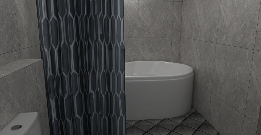 Bangalow hotel Interior Design Render