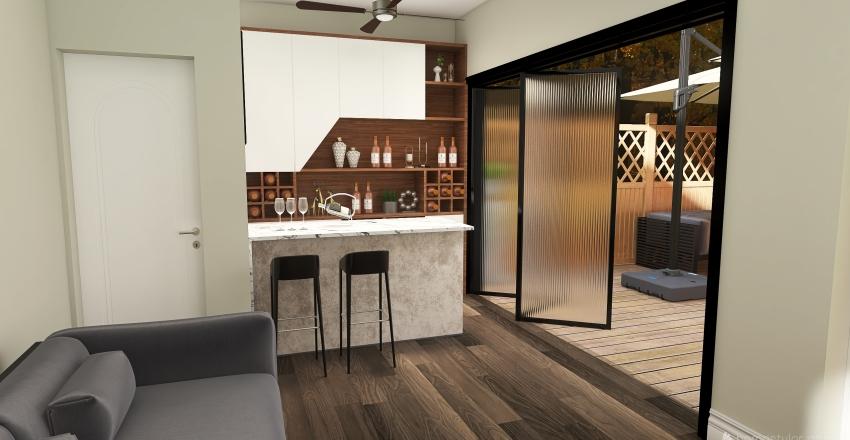 15 Wood Lane Interior Design Render