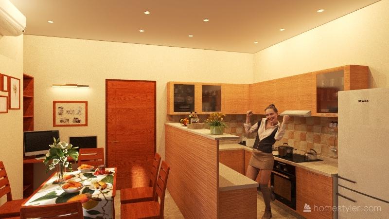 Czine Interior Design Render