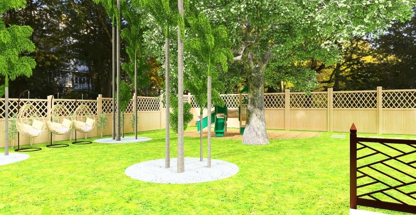 outdoor Backyard 8011 Chervil Interior Design Render