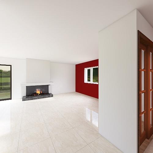 Maison Actuelle Interior Design Render