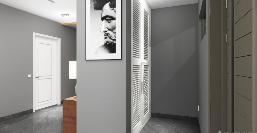 δυοροφη οικια Interior Design Render