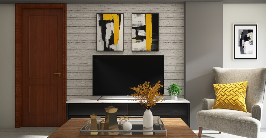 NY Sun Interior Design Render
