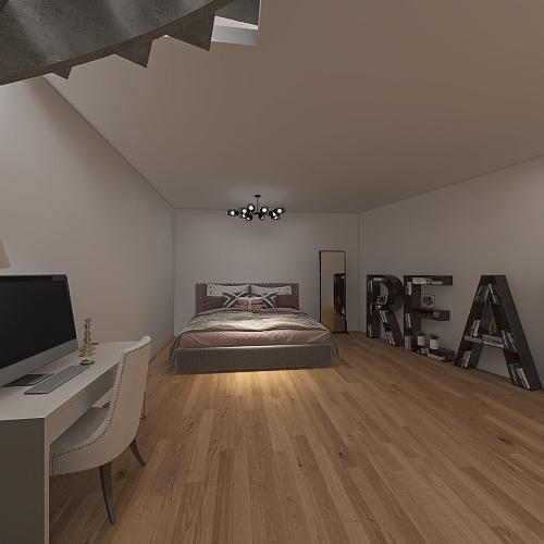 Loft2 Interior Design Render