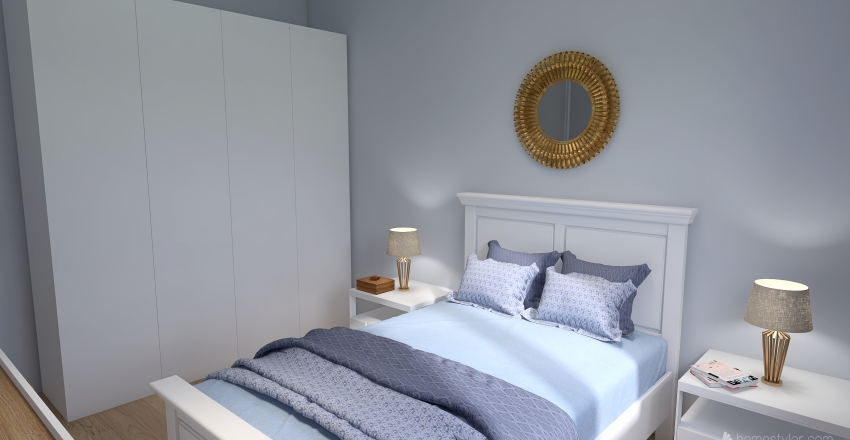 Casa de Praia Interior Design Render