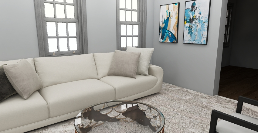 Manor House Trial Interior Design Render