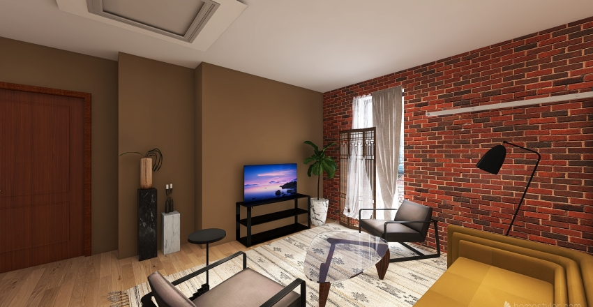 Art Lofts Interior Design Render