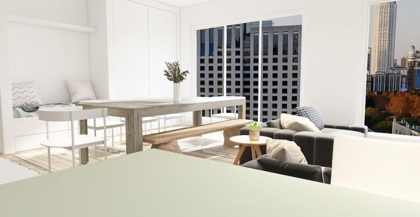 Lola ~ Getaway Apartment Interior Design Render