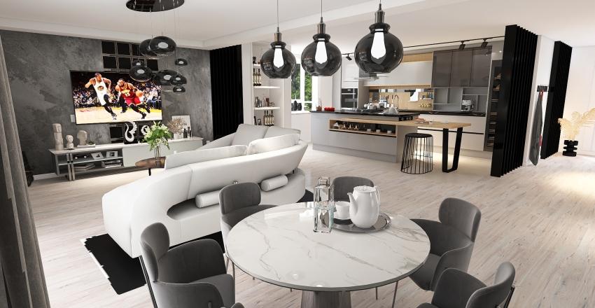 KLASYKA Interior Design Render