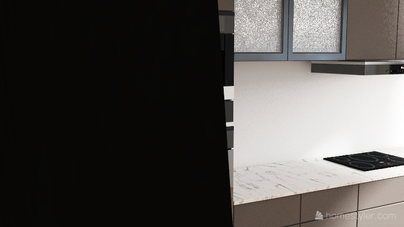 van house Interior Design Render