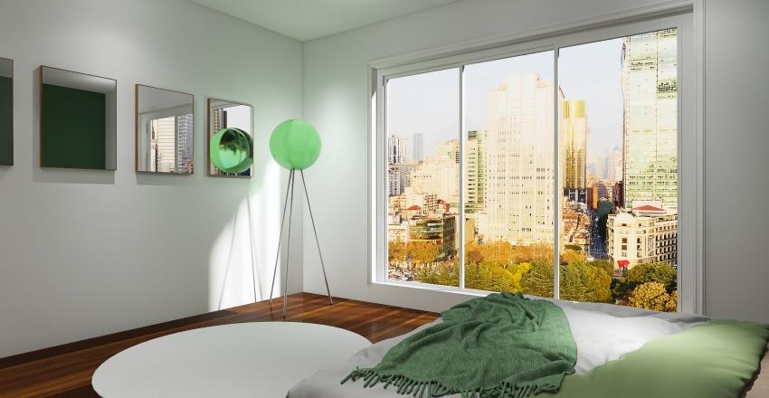Green Obsession Interior Design Render