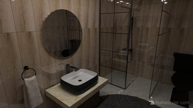 Residential - Beach Modern Bohemian House Interior Design Render