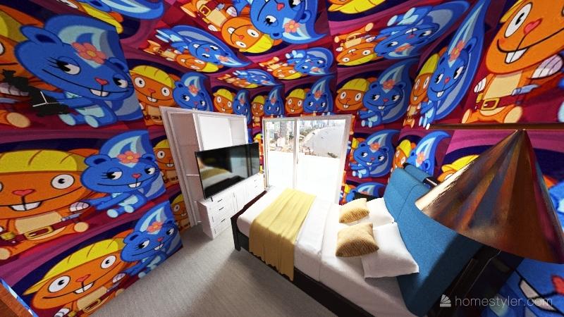 Kim Jong-Un Interior Design Render