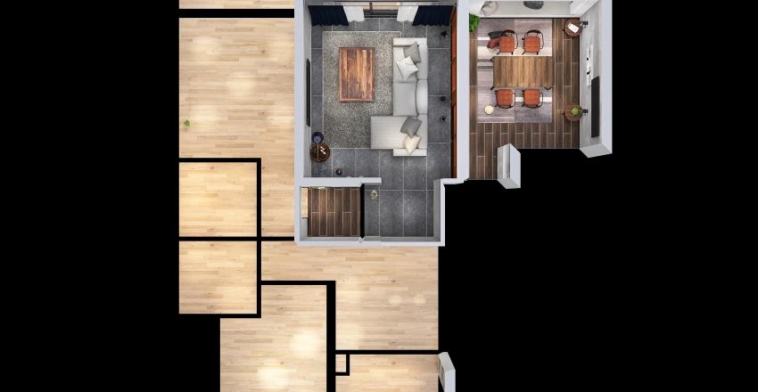 kuya's room Interior Design Render