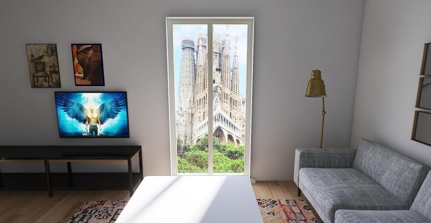 Barcelona Interior Design Render
