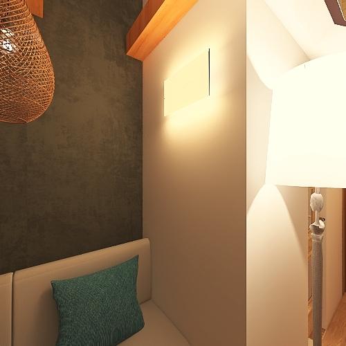 Dom jednorodzinny Interior Design Render