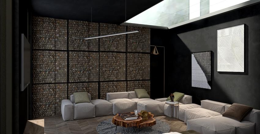 Modern Hobbit Interior Design Render
