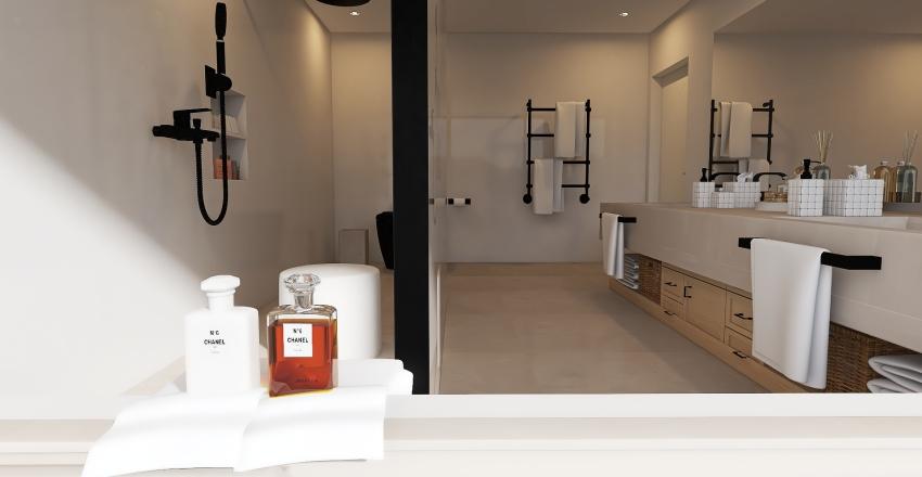 (v2) 032| mediterranean minimalist Interior Design Render