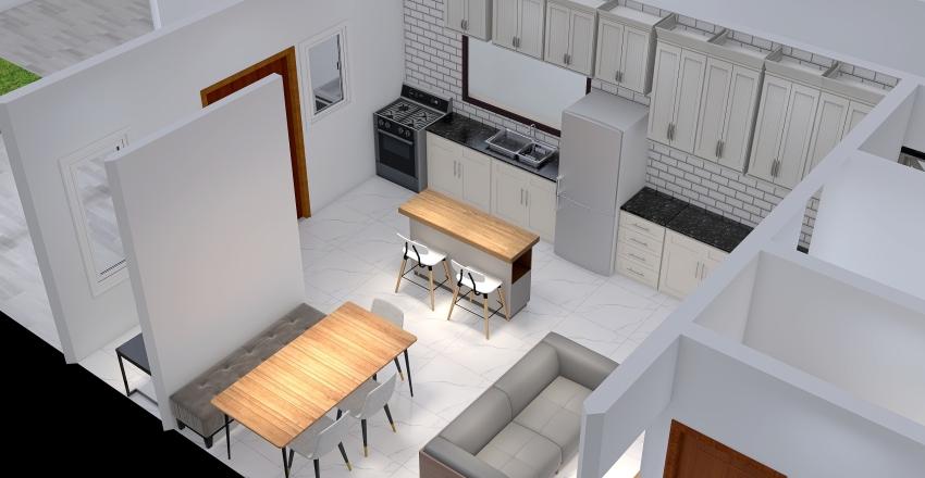 Casa boa vizinhança Interior Design Render
