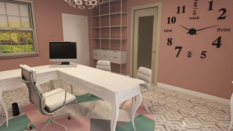 v2_DreamHouse-FloorPlan Interior Design Render