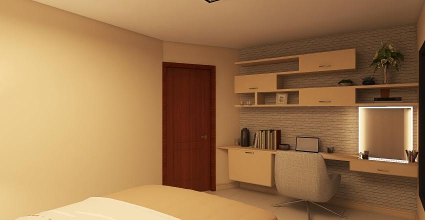 Quarto Mariana Interior Design Render
