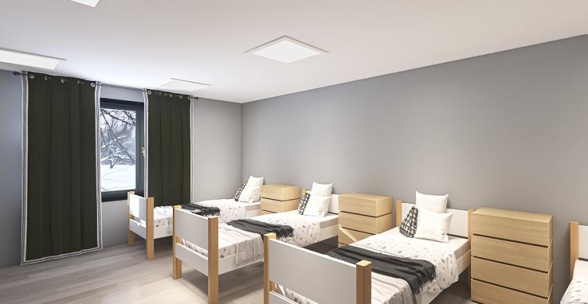 зея общежитие Interior Design Render