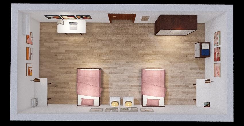 cameretta asia Interior Design Render